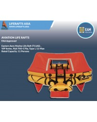 Eastern Aero Marine Life Raft (T11AS) ,VIP Series, FAA TSO-C70a, Type I, 11-Man