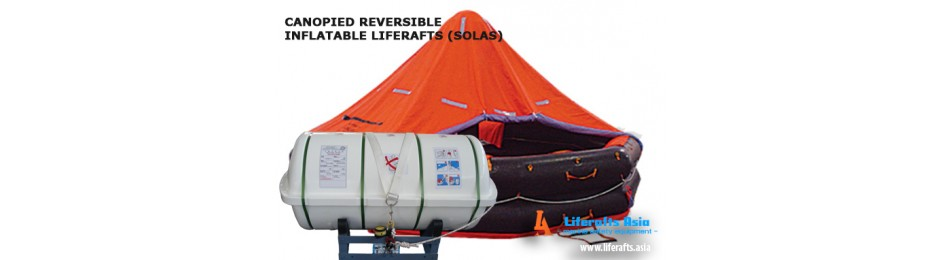 Canopied Reversible Liferafts