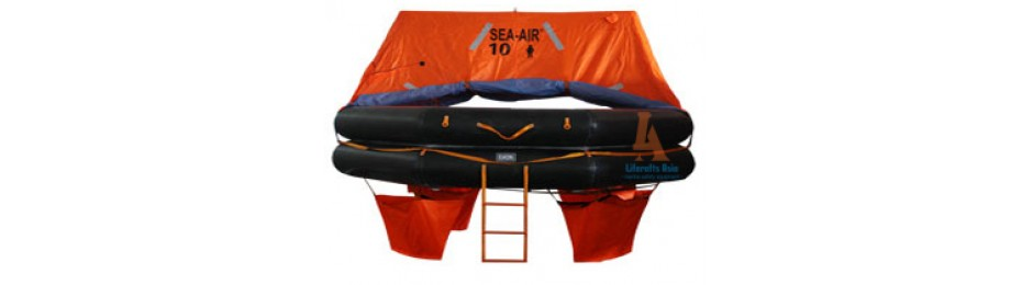 Throw-Overboard Liferaft