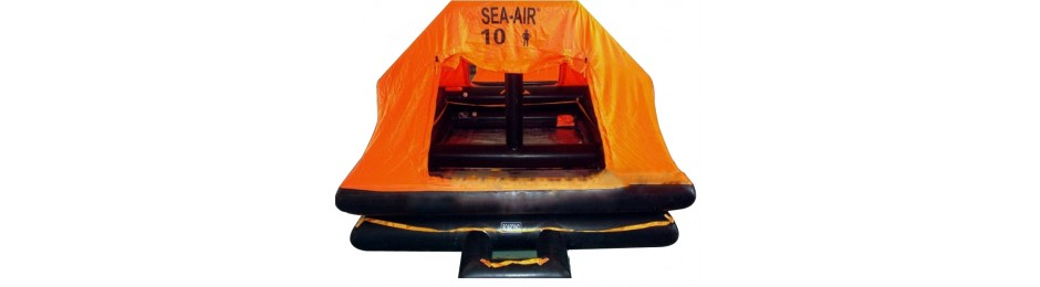 Throw-overboard Self-Righting Liferaft