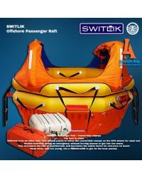 Switlik Offshore Passenger Life Raft