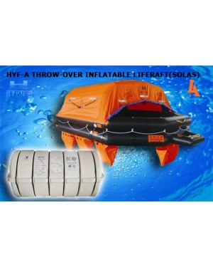 HYF-A THROW-OVER INFLATABLE LIFERAFT(SOLAS)