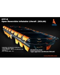 Open Reversible Liferaft 100 Person (SOLAS)