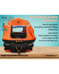Youlong Liferafts KHZ-6 Type Automatically Self-Righting Inflatable Liferafts