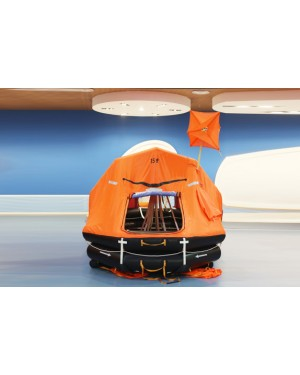 Youlong Liferafts KHZD-15 automatically self-righting davit-launched