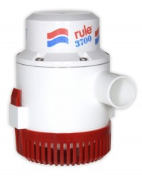Bilge Pumps - Rule Pumps Non-Automatic 12 Volt DC 3700 GPH 14A