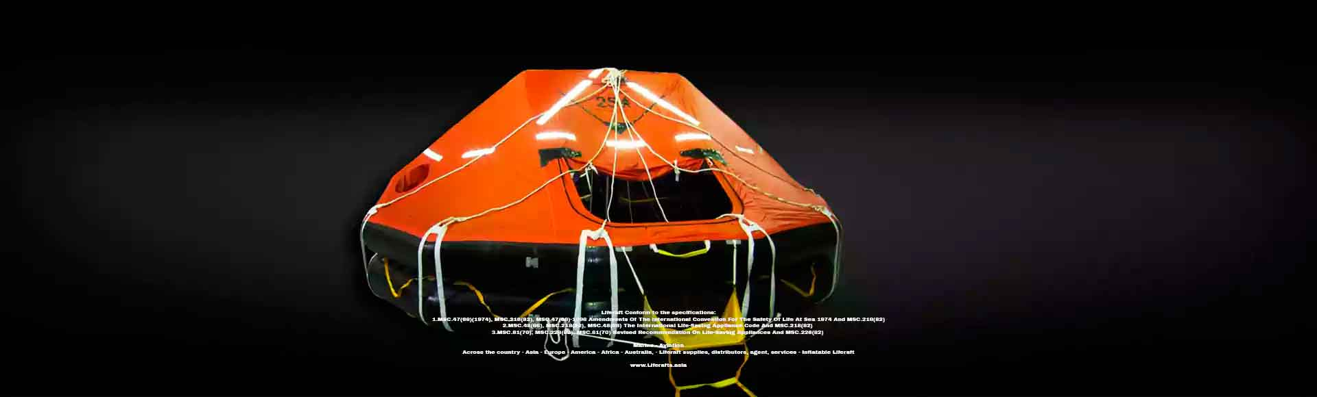 liferafts, liferaft, annual inspection-indonesia