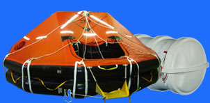 Liferaft supply, service, inspection
