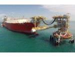 Lampung Project FSRU and Tower Yoke Mooring System Installed