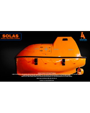 Lifeboat Totally Enclosed 85 Person - Fire Protected Type