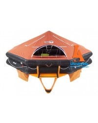 VIKING Liferaft, throw overboard, 25 persons, type DK+