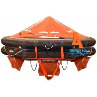 VIKING Liferaft, throw overboard, 10 persons, type DK+