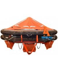 VIKING Liferaft, throw overboard, 10 persons, type DK+
