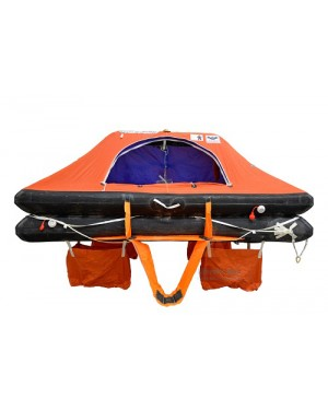 VIKING Liferaft, throw overboard, 4 persons, type DK+