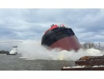 VT Halter Launches ATB Tug for Bouchard