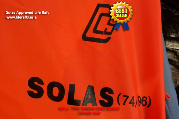 Ningbo Throwing type Inflatable Liferaft Solas 25 Person
