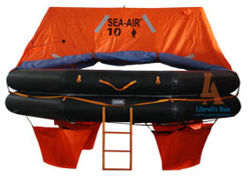 SEA AIR ATOB-10 PERSON THROW OVERBOARD