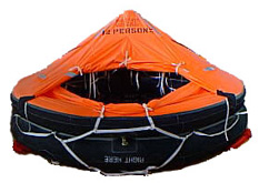 TRAINING liferaft