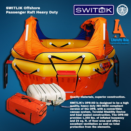 Switlik Offshore Passenger Life Raft Heavy Duty