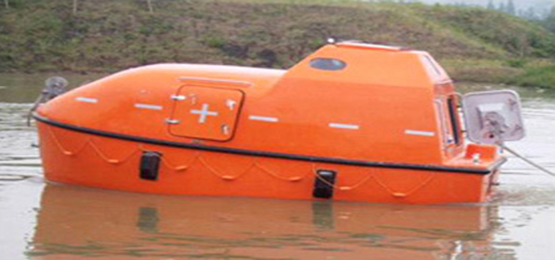 Totally enclosed lifeboat - Ningbo Asia F.R.P Boat Manufacturing
