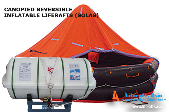 Liferaft Solas 65 Person